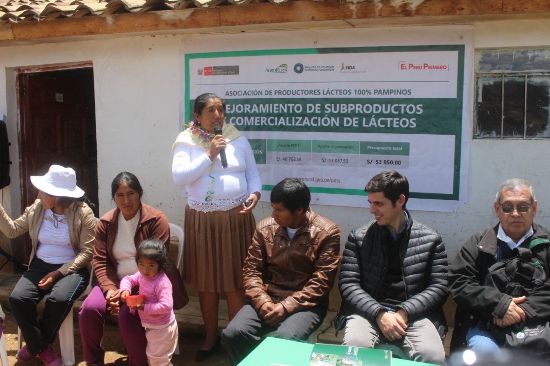 Ministerio de Agricultura resalta logros alcanzados por pequeños productores rurales de Huancavelica. ANDINA/Difusión