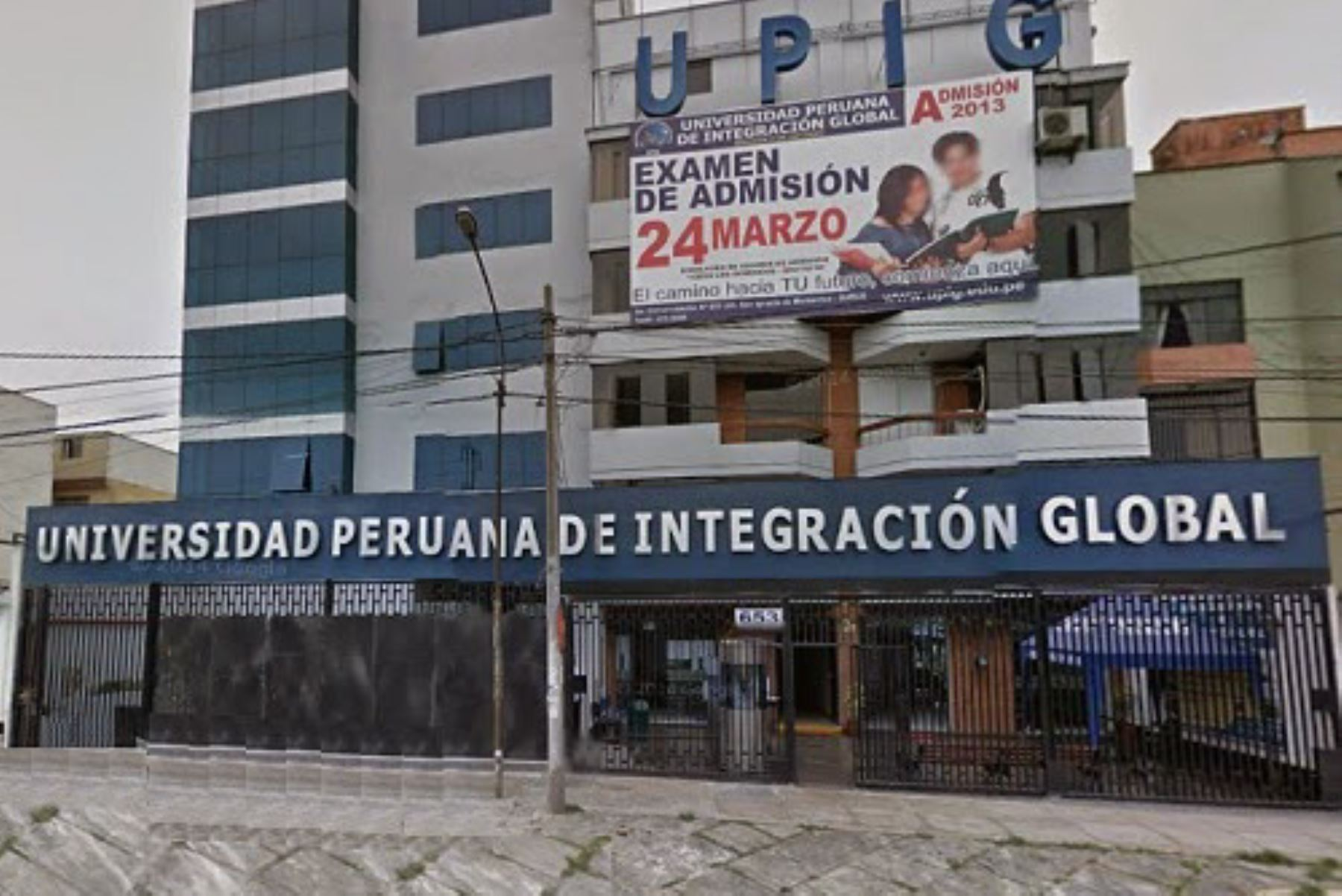 Universidad Peruana de Integración Global. Foto: Internet/Medios.