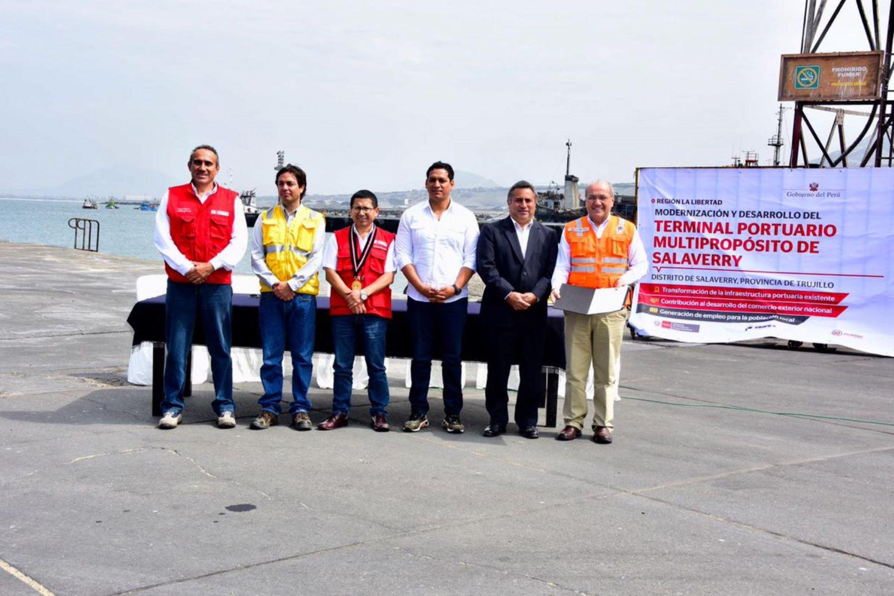 Invertirán US$ 290 millones para modernizar el puerto de Salaverry, en La Libertad. ANDINA/Difusión