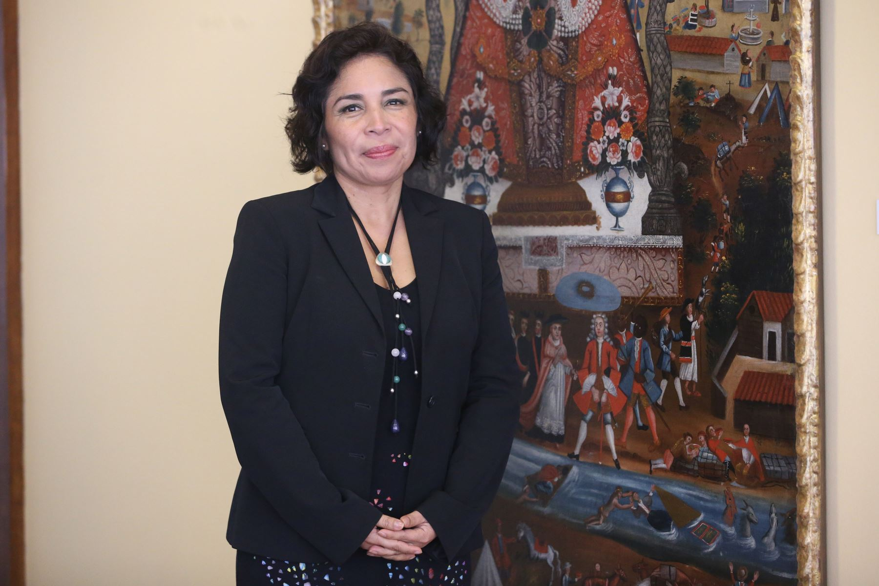 Patricia Balbuena, ministra de Cultura ANDINA/Vidal Tarqui
