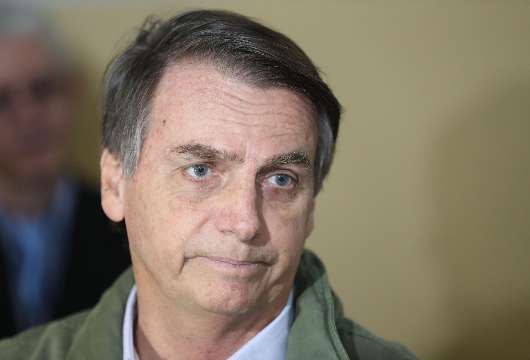 Jair Bolsonaro, presidente de Brasil, en imagen de archivo. Foto: AFP
