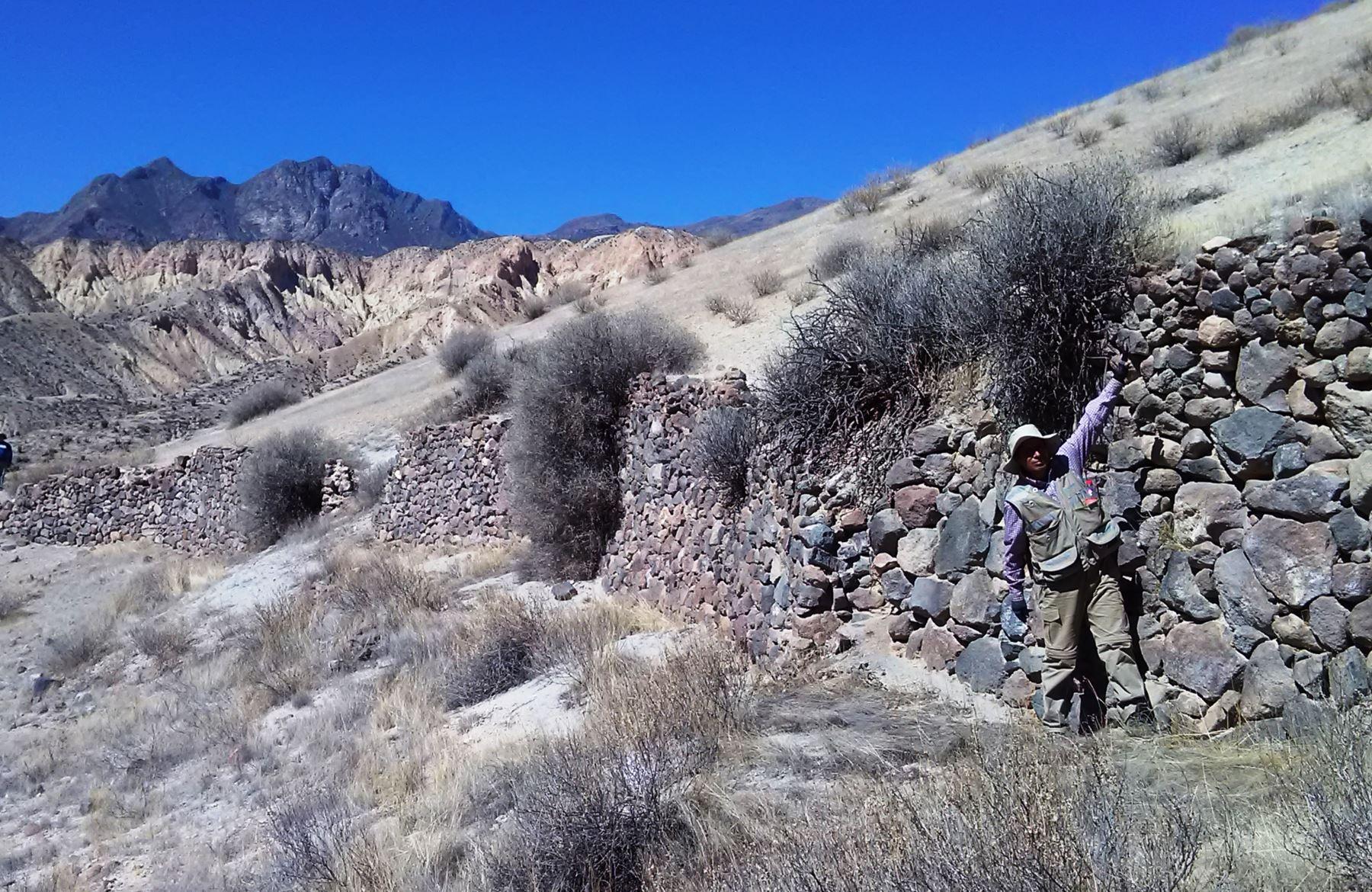 La erupción del volcán Huaynaputina en febrero de 1600 destruyó la ciudadela inca de Estagagache, ubicada en la región sureña de Moquegua, según reciente investigación del Ingemmet. Foto: ANDINA/Ingemmet