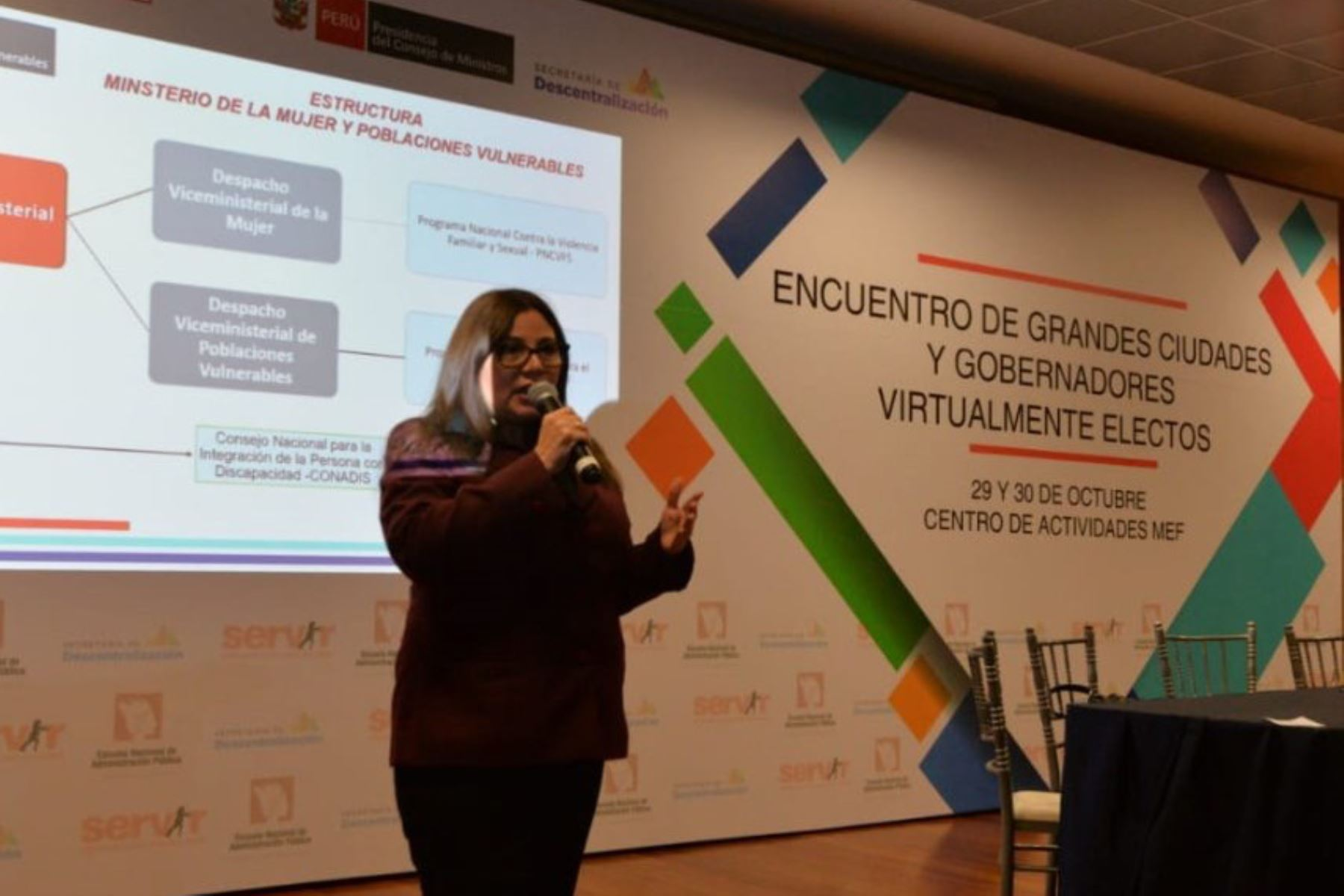 MIMP dialoga con autoridades regionales por el Bicentenario del Perú. ANDINA/Difusión