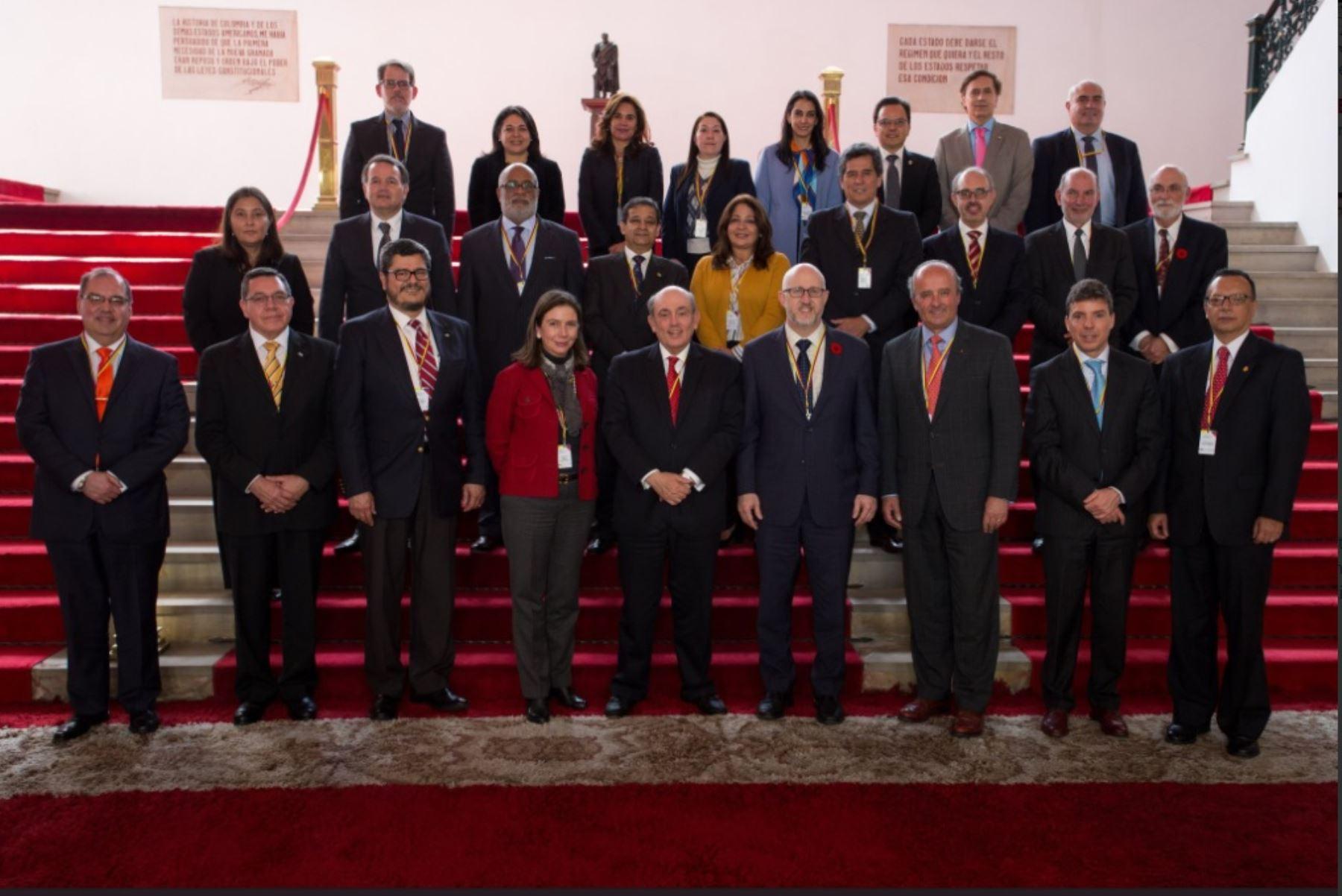 Vicencilleres del Grupo de Lima de reunieron en Bogotá, Colombia, para evaluar situación de Venezuela.