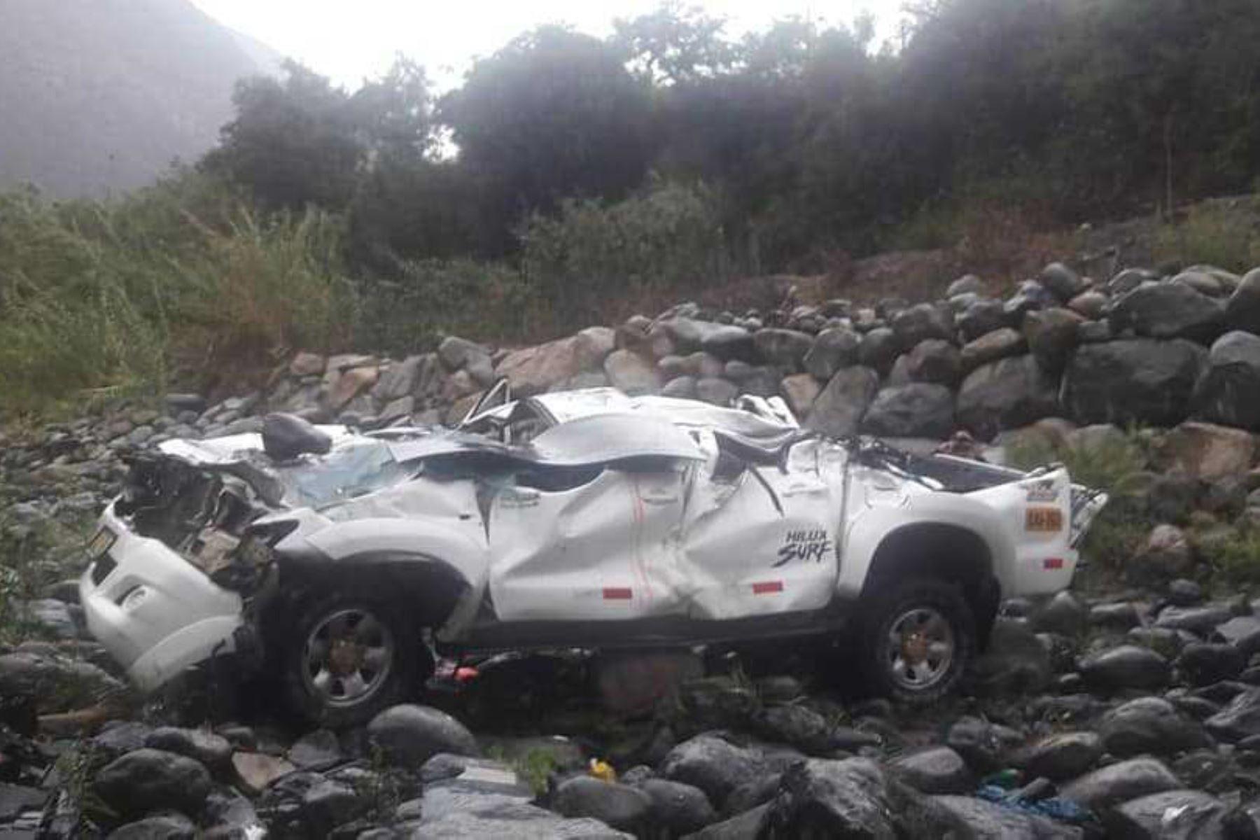 El alcalde del distrito de Huancapon, provincia limeña de Cajatambo, José Ely Quispe Bonifacio, perdió la vida en un accidente de tránsito registrado a la altura del kilómetro 69 de la vía Pativilca-Huaraz, en la región Áncash.