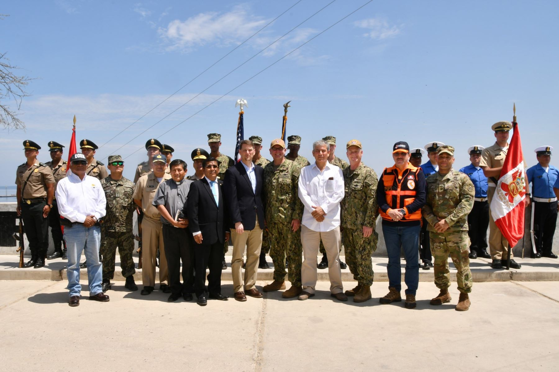 USNS Comfort carries out medical assistance mission in Peru