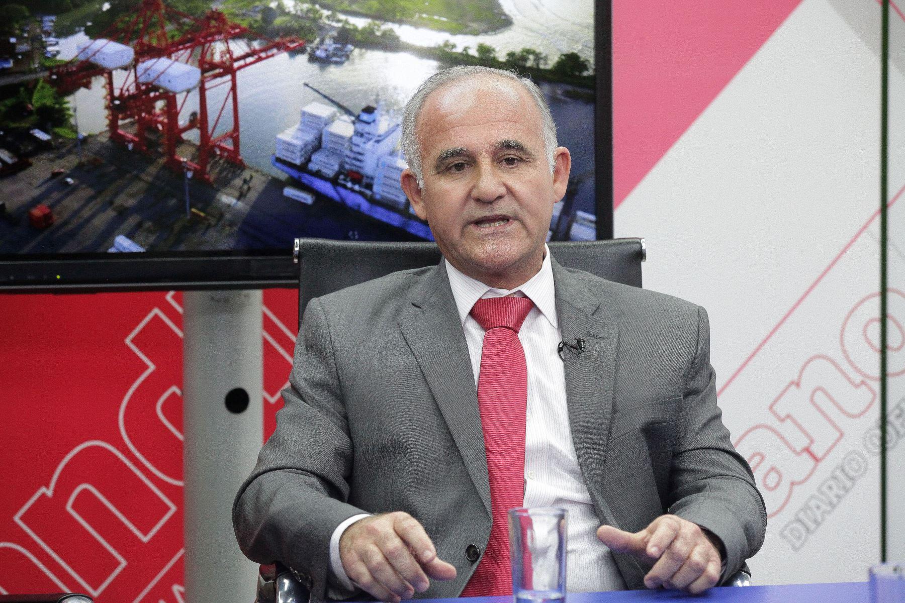 Presidente de Corporación Costa del Sol, Mario Mustafá. ANDINA/Héctor Vinces