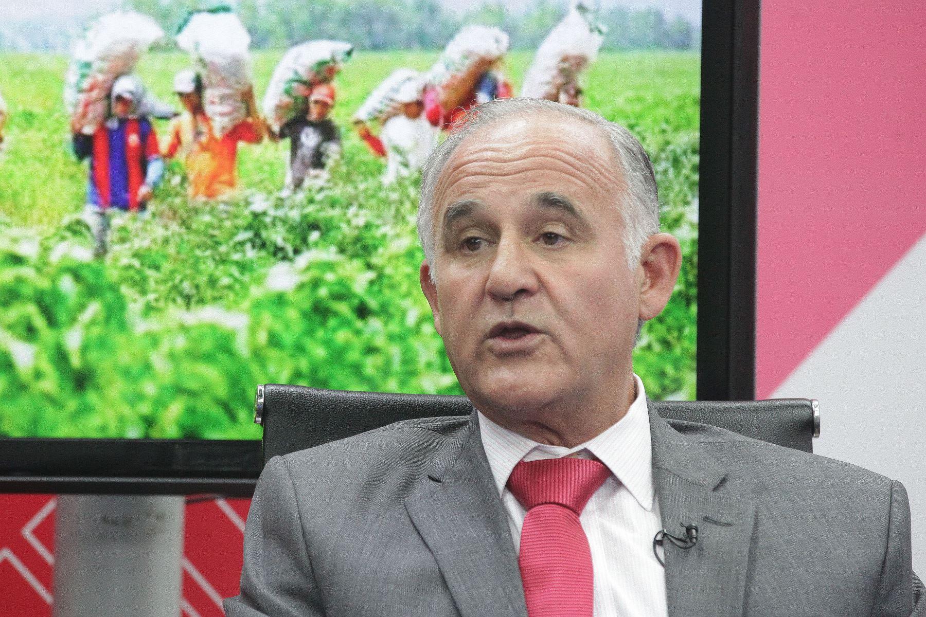 Presidente de corporación Costa del Sol, Mario Mustafá Foto:  ANDINA/Héctor Vinces