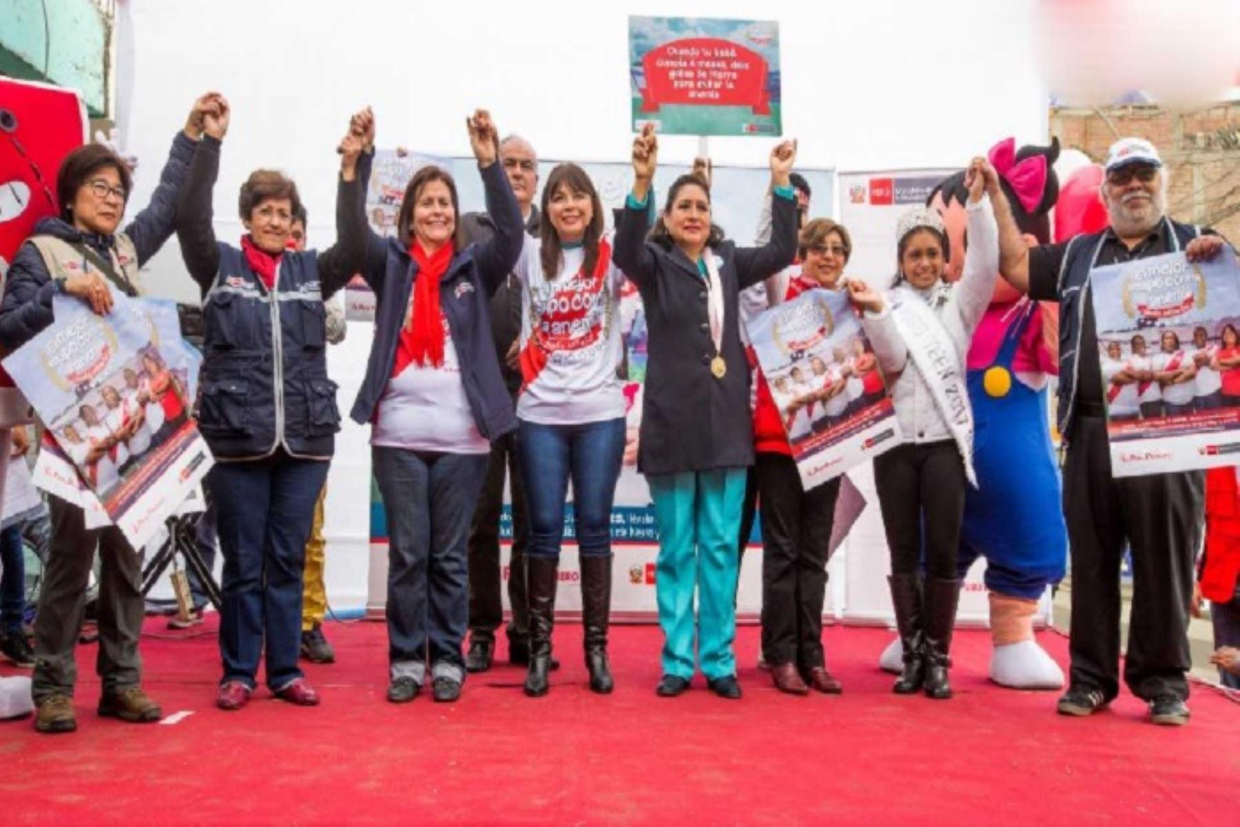 En el marco del lanzamiento de la Agenda de Conmemoración del Bicentenario de la Independencia del Perú, el Ministerio de Desarrollo e Inclusión Social (Midis) presentará las actividades por el 'Bicentenario sin Anemia' en Huacho, capital de la provincia limeña de Huaura, así como en la región Cajamarca.