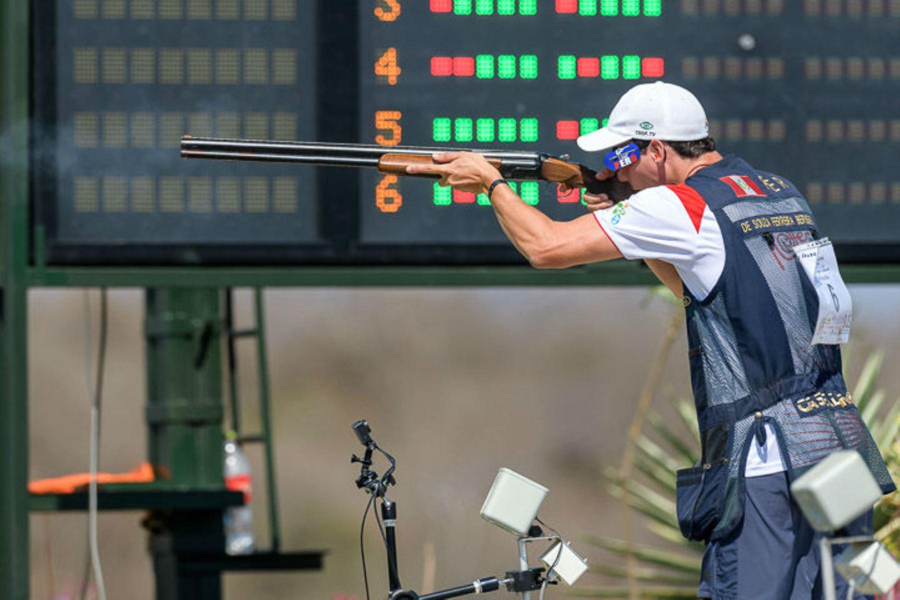 Alessandro De Souza Ferreira clasificó a los Juegos Olímpicos de Tokio 2020