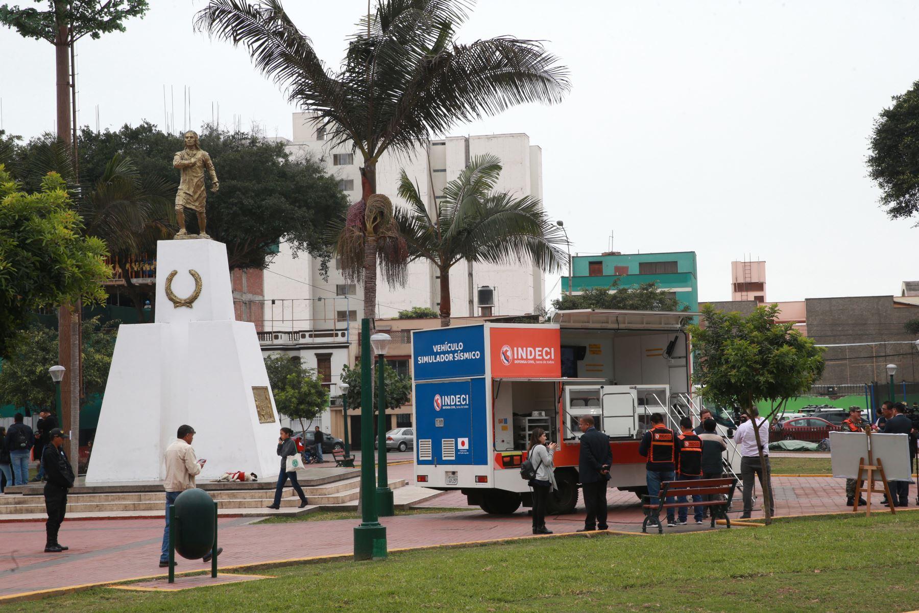 Magdalena del Mar se convertirá en el primer distrito del país en contar con un sistema de alerta  sísmica que advertirá con anticipación de la llegada de un movimiento telúrico de magnitud Foto: ANDINA/Norman Córdova