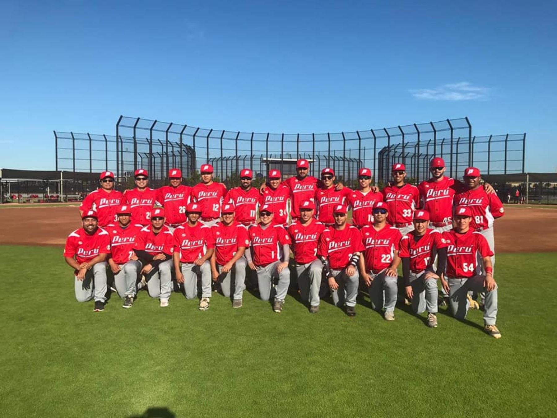 El equipo peruano de béisbol comienza a elevar su nivel con miras a los Juegos Panamericanos 2019