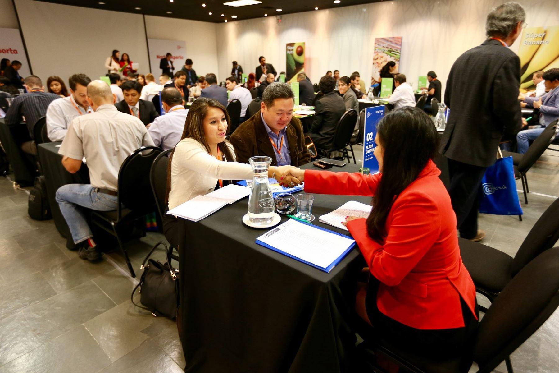 Encuentro Empresarial en Moquegua facilitará el intercambio comercial entre Quellaveco y las Mipyme locales. ANDINA/Difusión