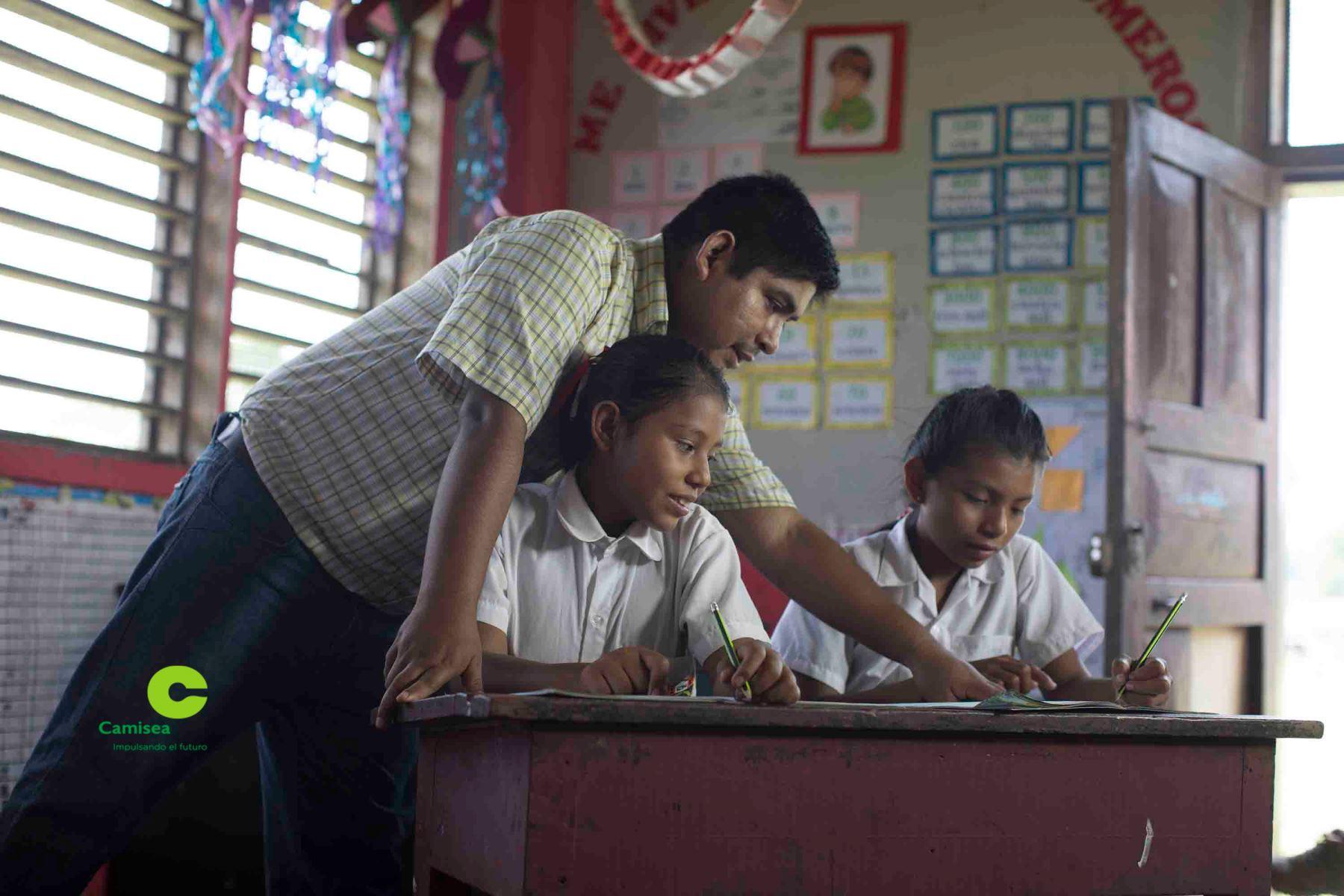 Invierten S/ 5 millones en programa educativo en el Bajo Urubamba, en Cusco. ANDINA/Difusión