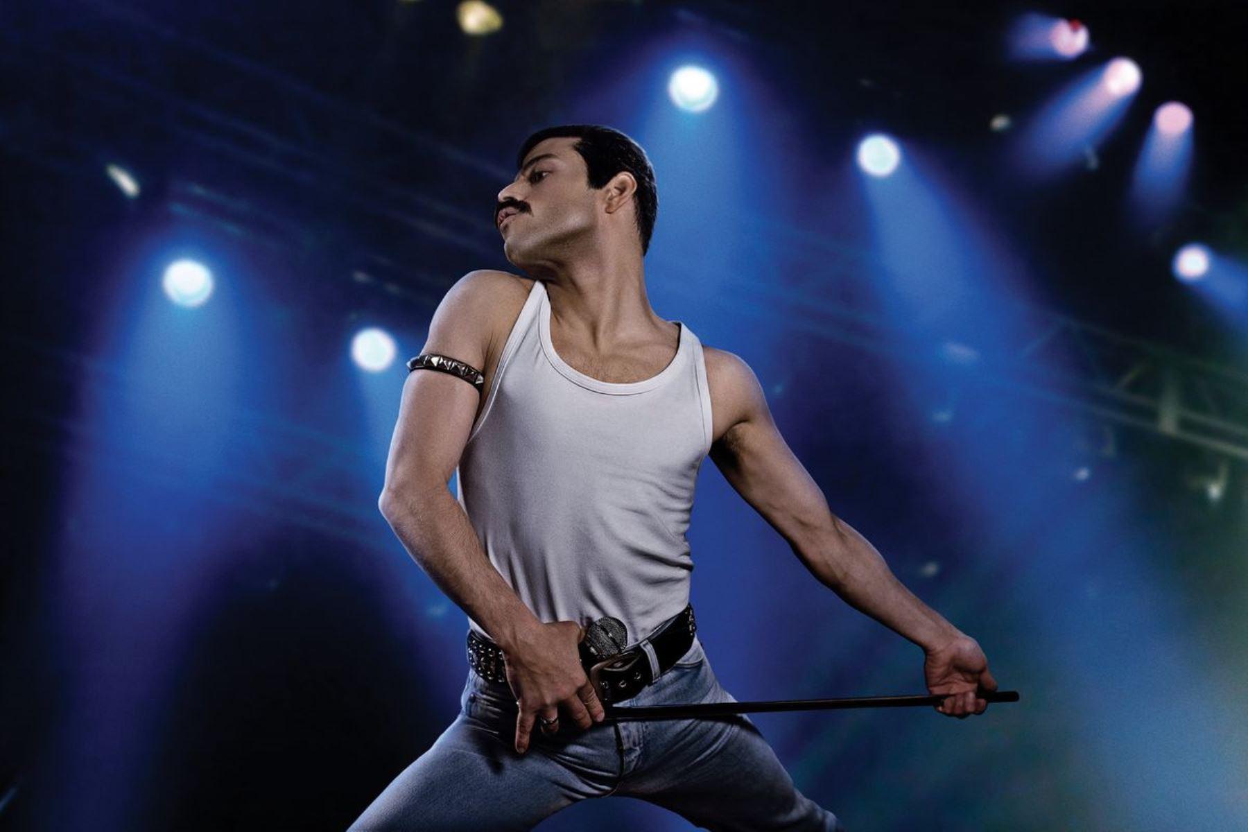 "Rami Malek interpreta a Freddie Mercury en ""Bohemian Rhapsody""."