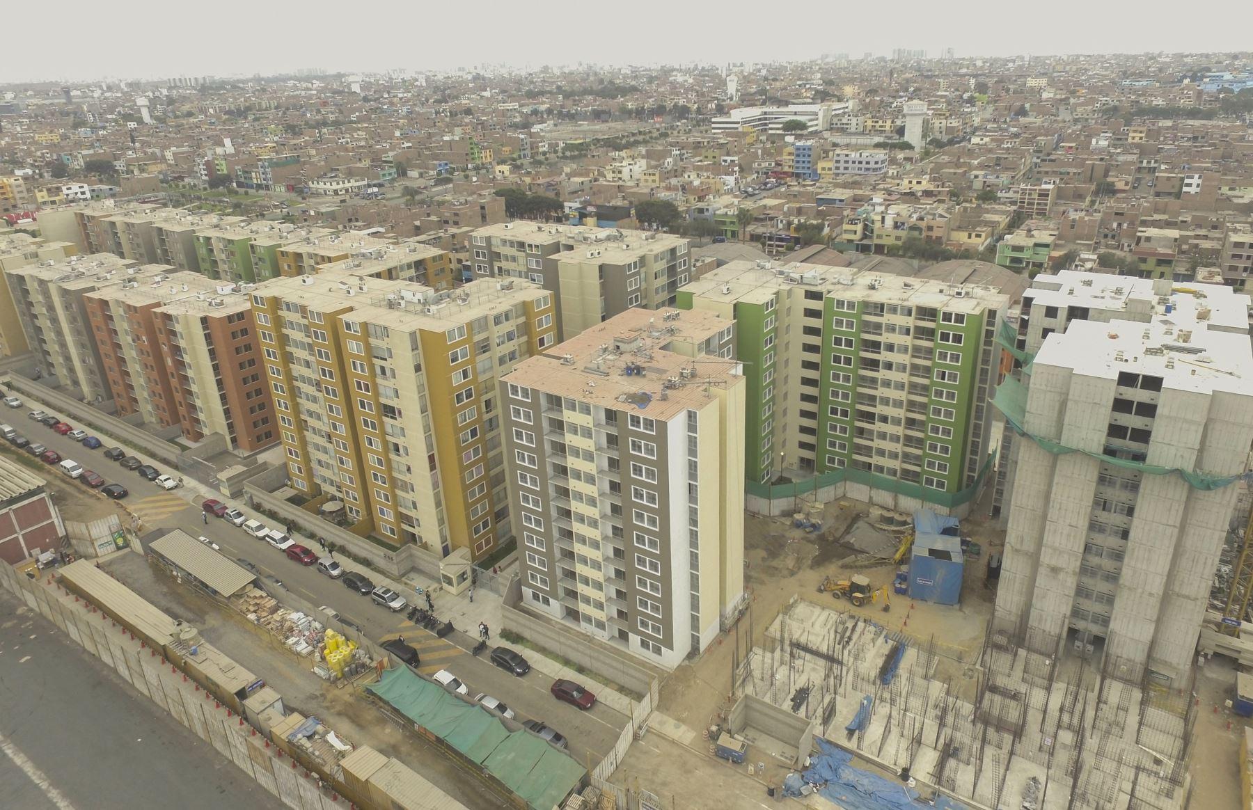 Mercado inmobiliario ANDINA/Difusión