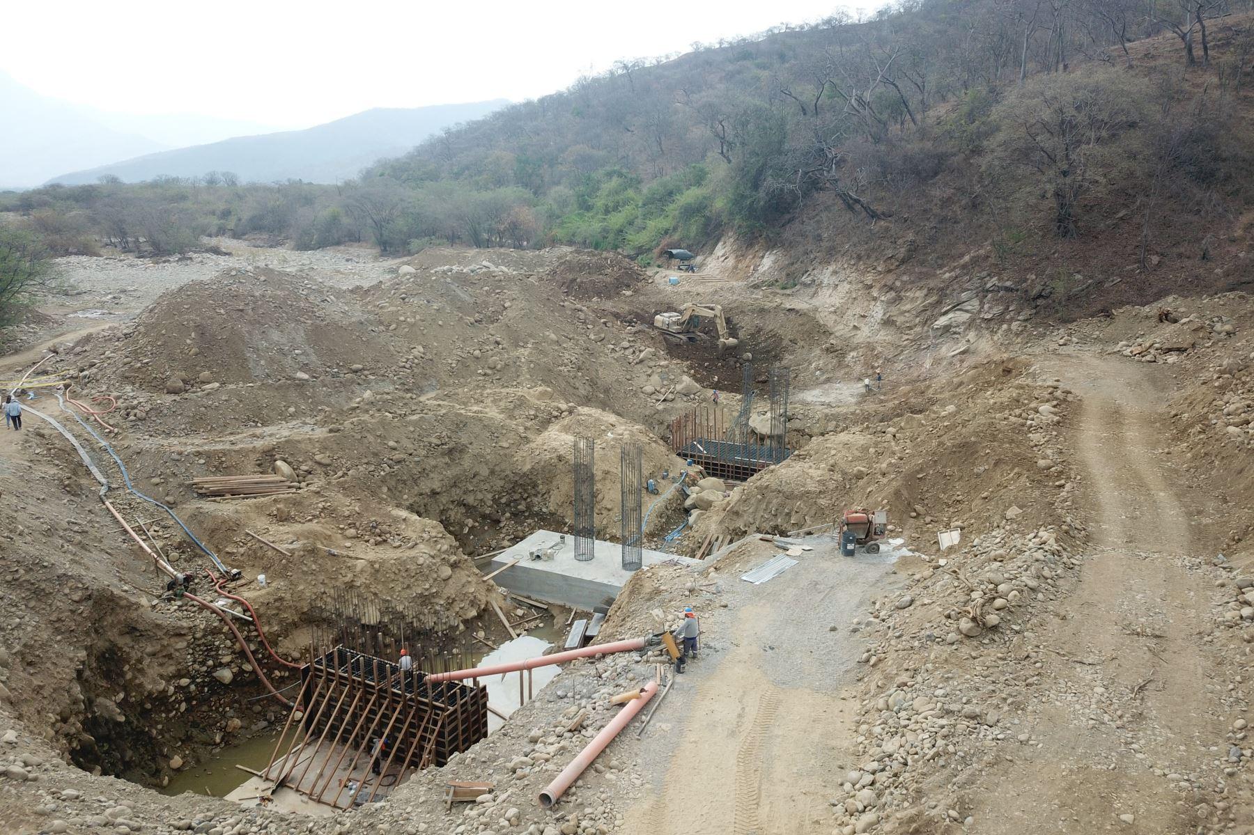 Autoridad para la Reconstrucción con Cambios rehabilita 5 puentes en la provincia de Huancabamba, en Piura.Foto:  ANDINA/Difusión