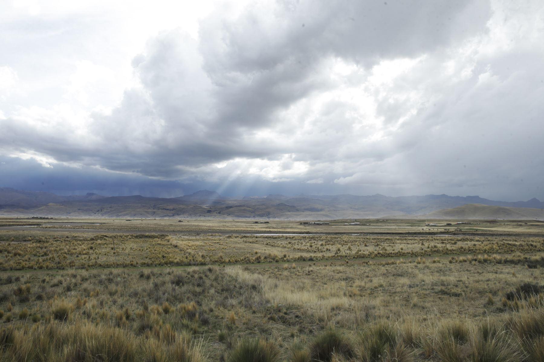 La ciudad de Lampa se ubica a 3,927 metros sobre el nivel del mar, en la zona del Altiplano, en Puno.  Foto: ANDINA/Melina Mejía