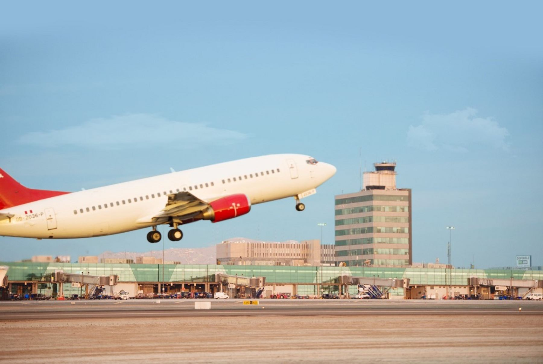 Aeropuerto internacional Jorge Chávez. Foto: Cortesía