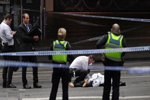 Un muerto y dos heridos en ataque terrorista en Australia  Foto: AFP