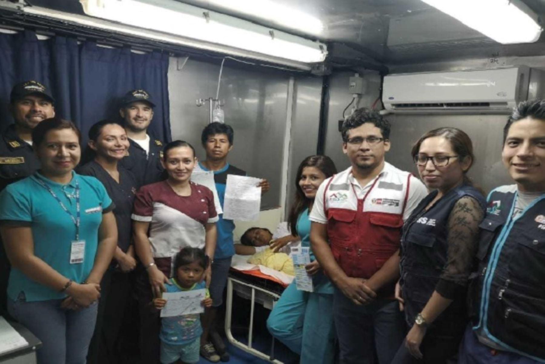 Más de 86 mil atenciones sociales a pobladores de comunidades nativas de Loreto, Ucayali y Puno ha realizado el Ministerio de Desarrollo e Inclusión Social a través de las Plataformas Itinerantes de Acción Social (PIAS) y Buques de Armada Peruana (BAPs) del Programa Nacional PAIS. Además, a bordo nacieron 7 bebés.