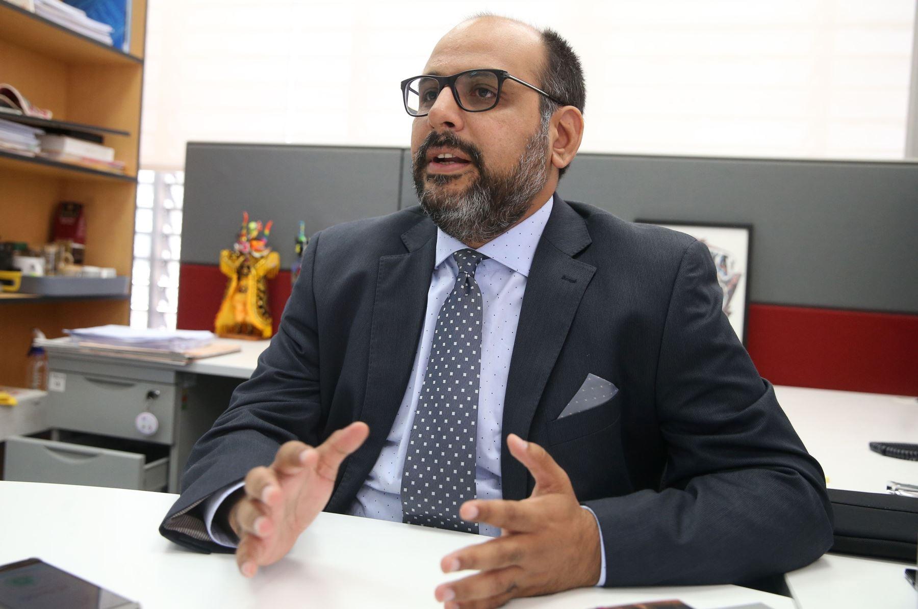 09/11/2018   Ministro de Educación Daniel Alfaro. Foto: ANDINA/Vidal Tarqui