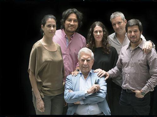 Mario Vargas Llosa se presentó en el Teatro Municipal de Arequipa (Foto: Twitter/ Hay Festival )