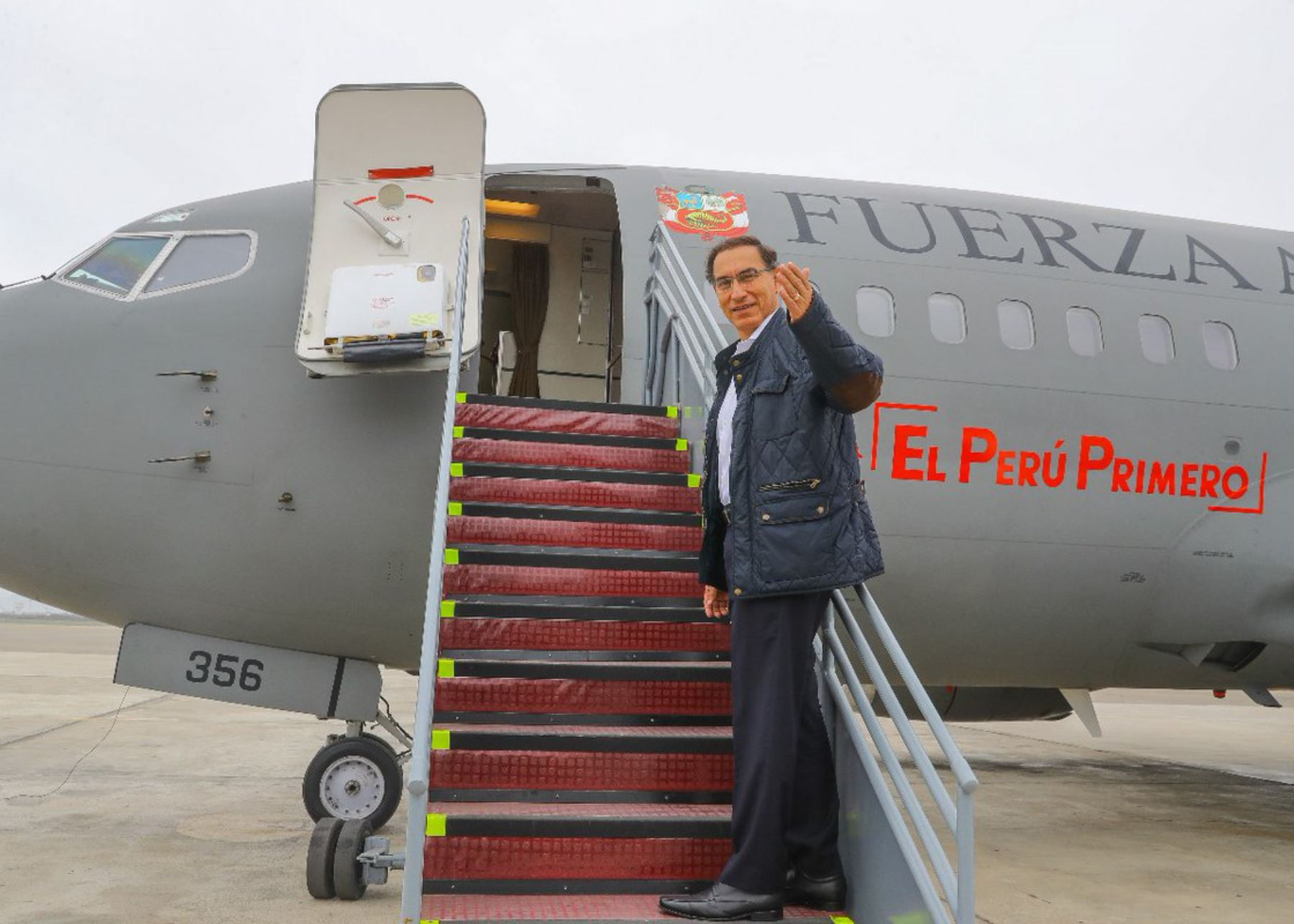 Presidente Martín Vizcarra encabeza lanzamiento de la Agenda Bicentenario en Ayacucho.