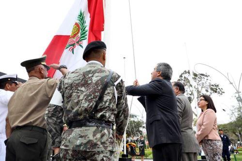 Se inicia ceremonia de lanzamiento de Agenda Bicentenario en Chiclayo. ANDINA/Difusión
