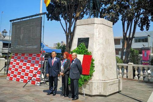 Empieza ceremonia de lanzamiento de Agenda Bicentenario en Tacna