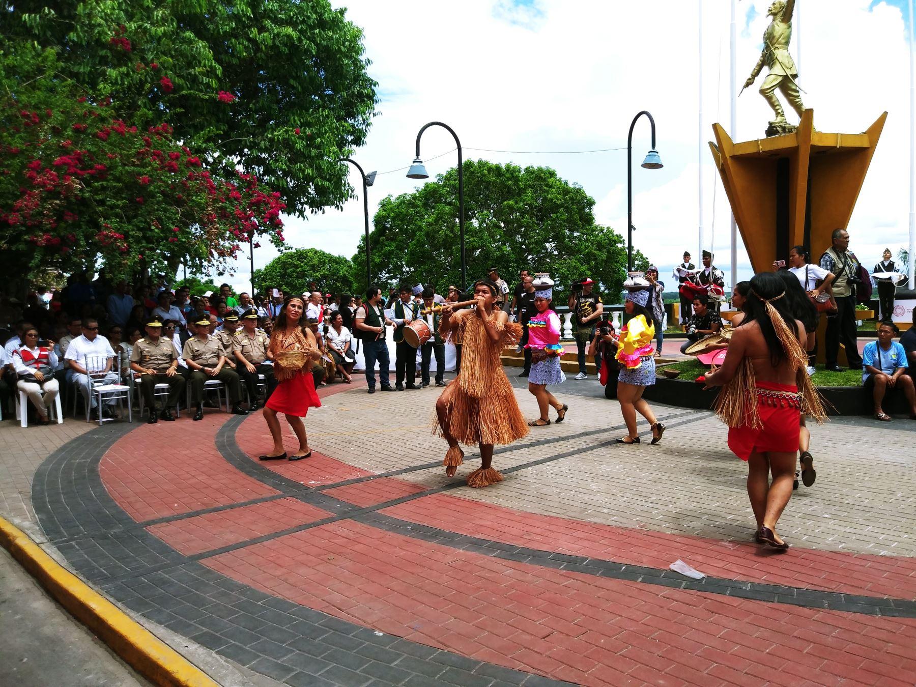 Ceremonia resalta la multiculturalidad de la Amazonía peruana. Foto: Luis Zuta Dávila.
