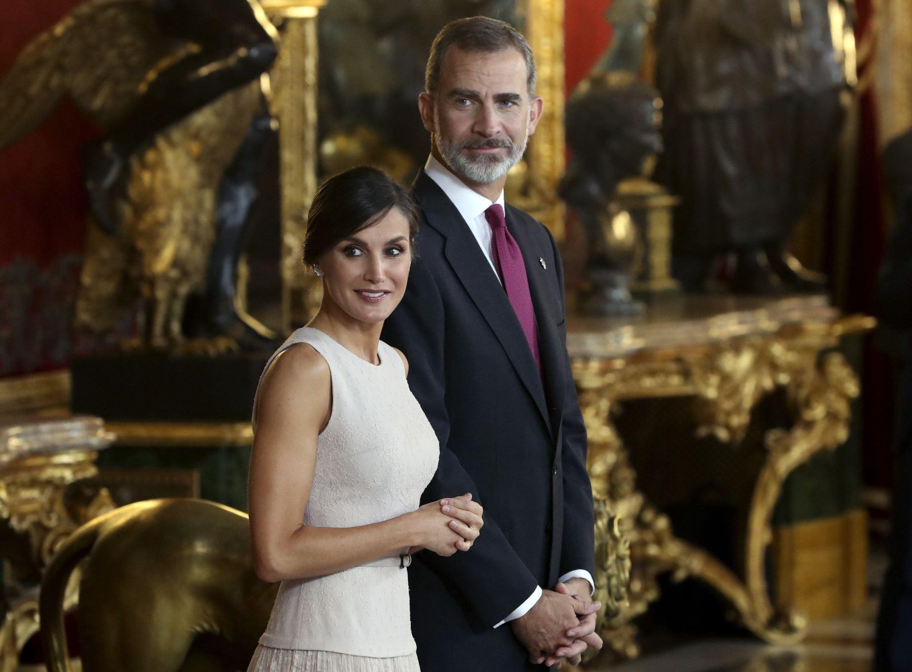Presidente Martín Vizcarra recibe hoy a reyes de España