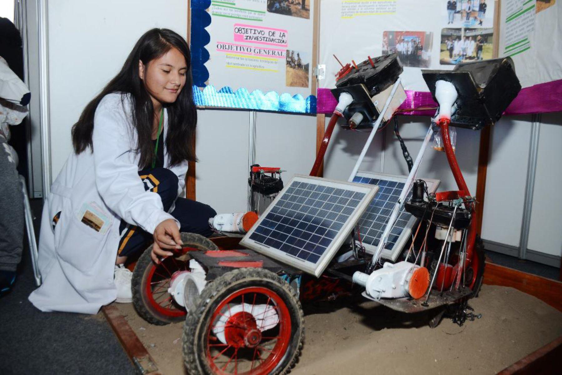 Eureka exhibe trabajos de más de 200 estudiantes del Perú. Foto: Andina/difusión