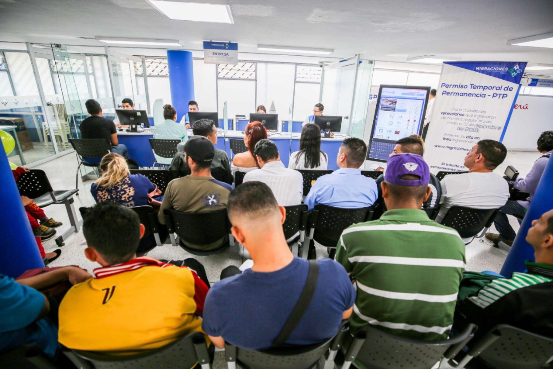 Carné de PTP solo se recabará en dicha oficina de San Martín de Porres. Foto: Migraciones