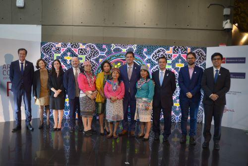 Perú presenta participación en feria ARCOmadrid 2019 Foto: Ministerio de Cultura