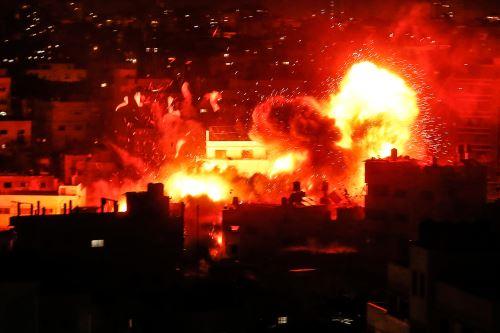 Aumenta la tensión en la Franja de Gaza  por lanzamiento masivo de cohetes