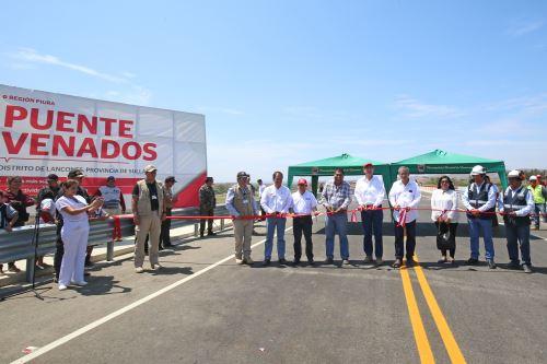 Presidente Vizcarra inaugura Puente Venados en Piura