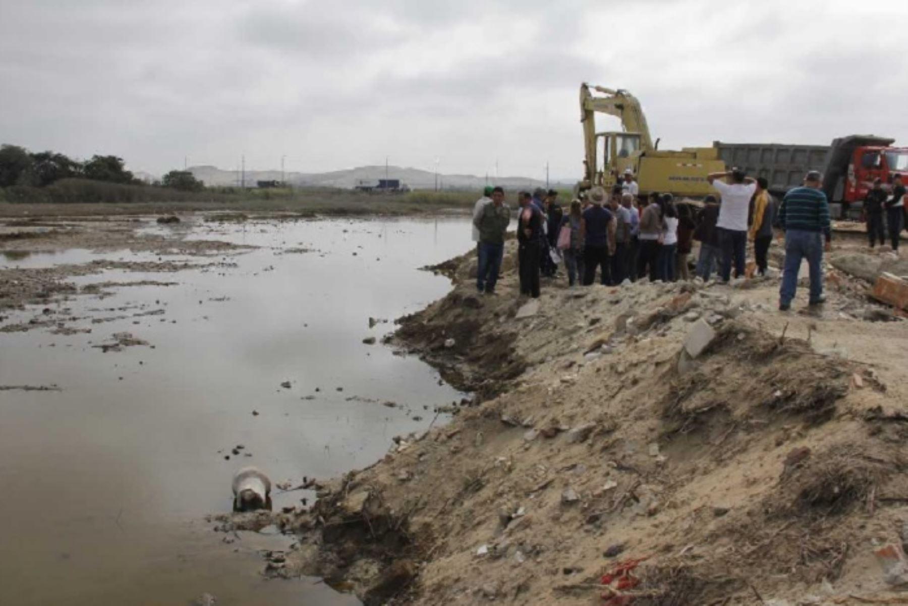 Chimbote: conforman mesa técnica para recuperar Humedales de Villa María