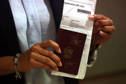 Trámite de renovación de visa americana se hará por correo electrónico