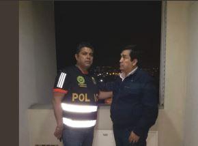 Policía detuvo al excongresista Benicio Ríos