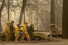 Incendios en California. Foto: AFP.