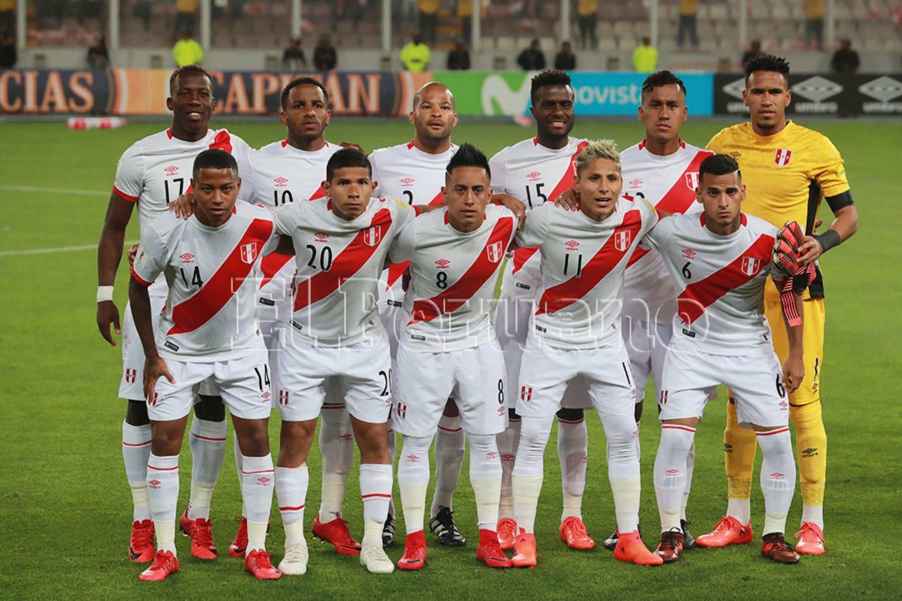 Selección peruana. Foto: ANDINA/archivo