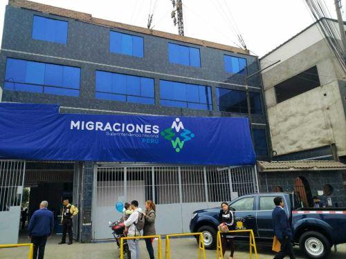 Nueva sede de Migraciones en SMP. Foto: Migraciones