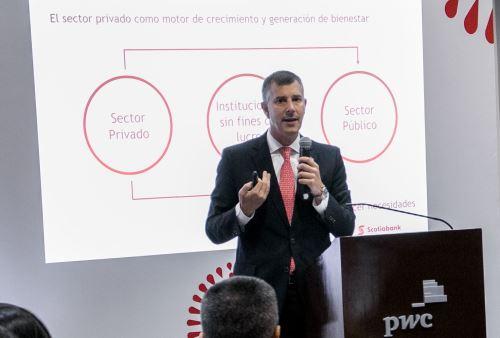CEO de Scotiabank Perú, Miguel Uccelli.  Foto: Cortesía.