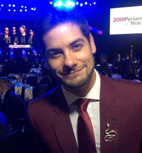 Andrés Wiese es parte como personalidad invitada a la entrega de los Grammy Latino.