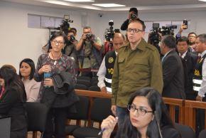 Pier Figari y Ana Herz   meses de prisión preventiva. Foto: ANDINA/PJ