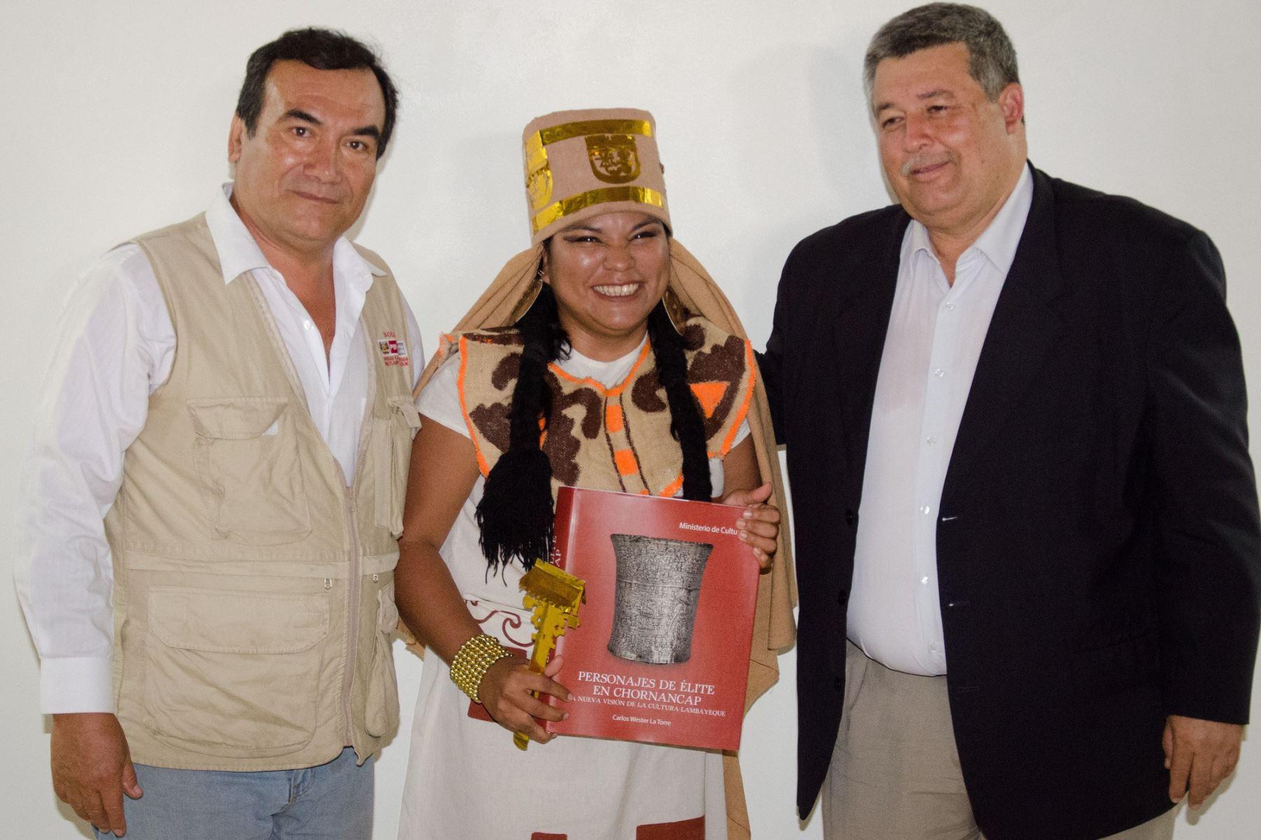 En libro presentan resultados de investigación en Chotuna-Chornancap. ANDINA