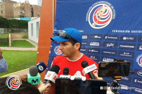 Ronald González tomará sus precauciones para enfrentar mañana a Perú