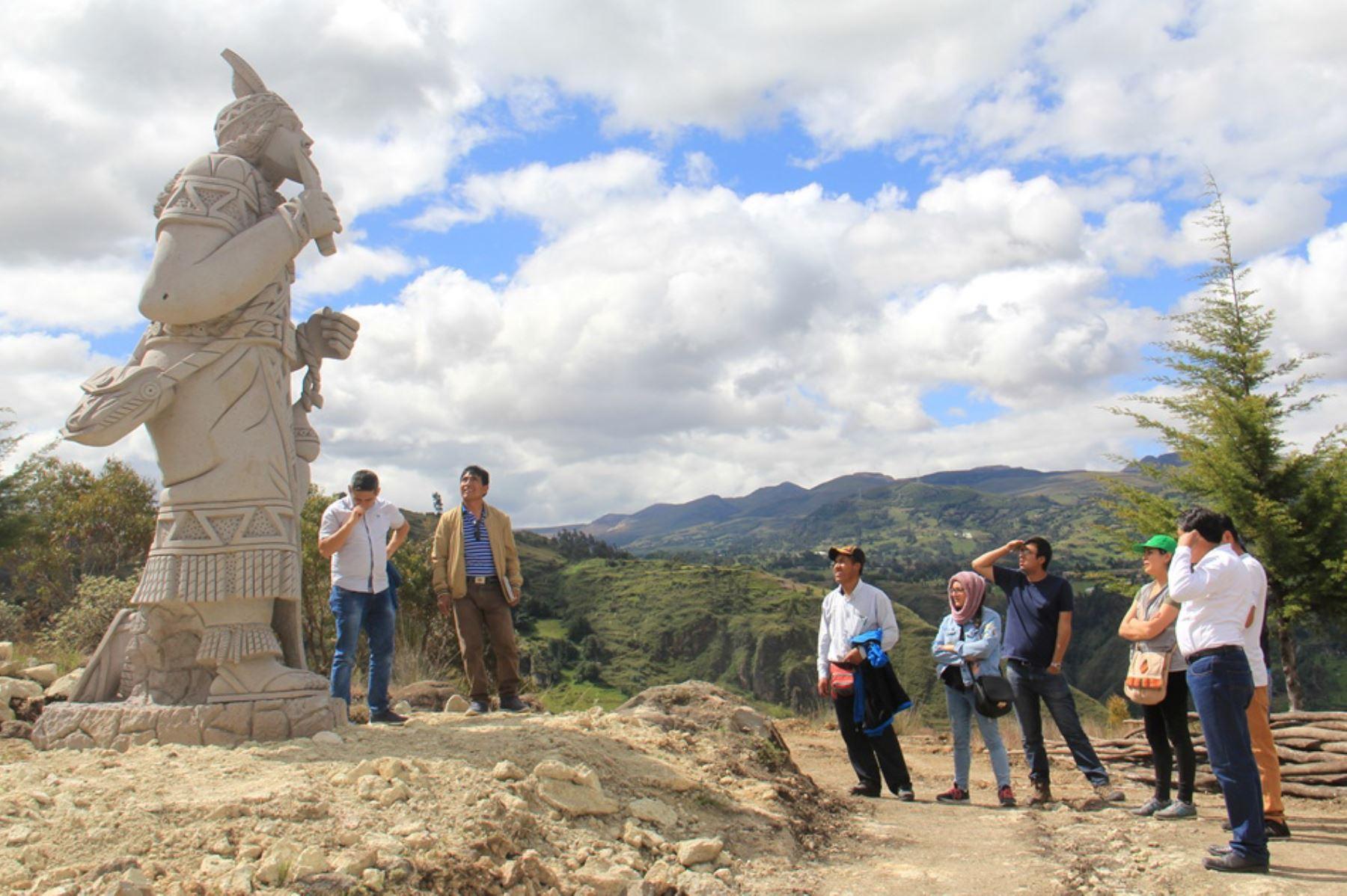 La Ruta de las Esculturas en Llushcapampa forma parte del nuevo circuito turístico denominado Parque de las Esculturas, que ofrece Cajamarca. Foto: ANDINA/Difusión