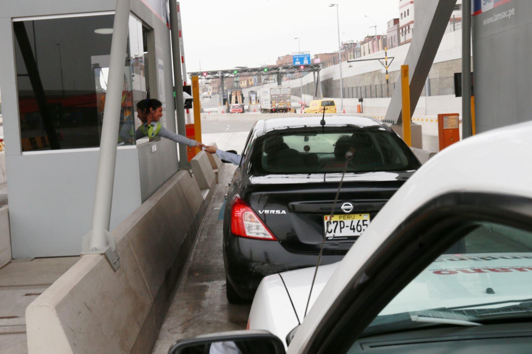 Desde hoy rige tarifa de S/ 5.50 en peajes de la Panamericana Norte y Sur. Foto: ANDINA/Difusión.